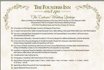 Wedding Packages at The Founders Inn