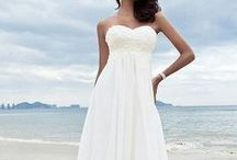 Beach Wedding Dresses / The most attractive & cute beach wedding gowns, for living your special day two feet in the hot sand, listening to the waves of the sea and the birds singing, by the beautiful sunset! Most beach wedding dresses on sale!
