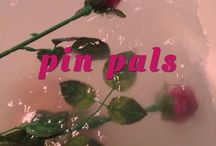 pin pals / the one cute lil community, add anyone you like :)