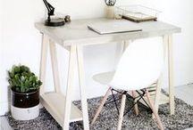 Scrivania Fai Da Te - Idee / Idee & Ispirazioni per una Scrivania Home Made