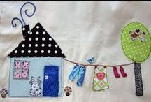 "Applique Ideas and ""tuts"" / by S P"