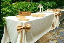 fiestas, mesas, celebracíones
