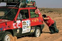 DDC 2012 / DDC 2013 / As edições passadas da grande aventura africana / Las ediciones anteriores de la gran aventura africana / Past editions of the great African adventure