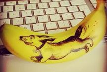 Bananart / A banana. A pen. Your imagination. It's all you need!