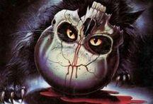 Mis películas de terror preferidas. / Las mejores películas de terror.