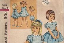 Vintage sewing / Sewing,  wintage patterns and other stuff
