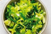 February - Cabbage and Leeks / Eating fruits and veg when they're in season means that you can make the most of their goodness. In February make sure you try recipes with lots of cabbage and leeks.