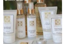 GOLDUST Products / At GOLDUST we have a natural and luxurious range of skin and body care products.