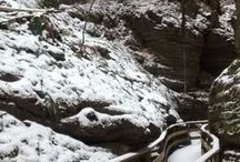 Gulch in Winter / The Witch's Gulch with snow and ice since most people are unable to see it during that time of year.