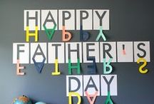 Father's Day / a collection of father's day gift ideas and free printables