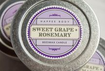 Home Sweet Smelling Home / Organic beeswax candles for a divine smelling home.