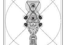 Geometría sagrada / Hay leyes en Geometría Sagrada que dan sustento, forma y coherencia a la vida.  Estas leyes son producto de la observación de los patrones que rigen el proceso de creación en el universo y, por lo tanto, de las distintas manifestaciones de la vida.