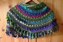 Crochet/Knit - Cowls & Scarves