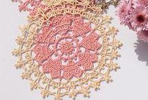 Crochet - Doilies/Mandalas/Pot Holders