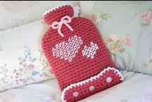 Crochet/Knit - Hot Water Bottle Covers