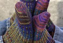 Crochet/Knit  - Socks