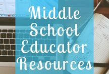 Middle School Teaching Resources / This is a collaborative board for middle school teachers to promote their self created resources, share best practices, and inspire one another!   Please only pin items relevant to 6th - 8th grade.   For every paid resource, please add one freebie as well.   *Please avoid pinning duplicates; duplicates will be deleted*