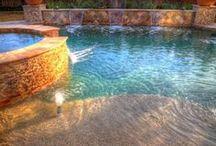Cool Pools / Pretty and fun swimming pool inspiration