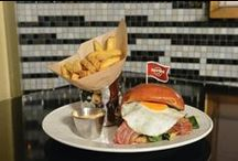 SIMPLY LEGENDARY / That six string on the wall isn't just a guitar and our 'Legendary' isn't just a burger!  Made in house daily and cooked using the finest ingredients - it's a legend and has been for over 40 years!