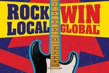HARD ROCK RISING / THE GLOBAL BATTLE OF THE BANDS COMPETITION! A worldwide competition to find and support the stars of tomorrow!