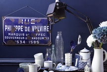 [ Blue / Blau, Interior, Farbe , Mood