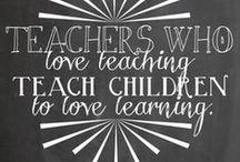 A Teacher's Life! / Ideas for teachers / by Carol Grinter Gould