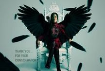 """May The Odds Be Ever In Your Favor / """"You love me. Real or not real?"""" I tell him, """"Real.""""  / by Katniss Everdeen"""