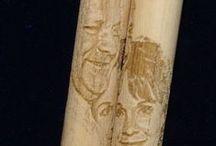Engraved Drum Sticks / Drum sticks engraved with custom graphics, photos, and wording