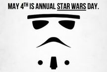MAY THE FOURTH BE WITH YOU! / A collection of witty images that those in the know will particularly enjoy!