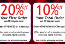 Deals & Steals / Don't miss the latest sale on rtsvapes.com.  Let us be your #1 Choice for All Your DIY Needs!