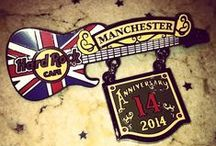 OUR 14TH ANNIVERSARY / Hard Rock Cafe Manchester celebrates 14 years rockin' #Manchester!