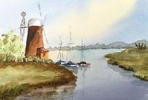 Bazza's Watercolour Artwork / Watercolour Pictures