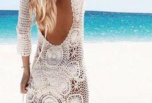 Moda praia em crochê