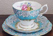 Vintage Tea Cups / Fine Vintage Bone China Teacups for Hire. Royal Albert, Royal Vale, Colclough, Queen, Anne, Queen Ann,