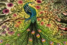 johanna basford art / Colouring in
