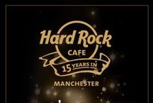 OUR 15TH ANNIVERSARY / Celebrating 15 years of rockin' Manchester! As part of our 15th anniversary celebrations, we hosted 15 nights of FREE live music, with a special party with The Feeling on Thursday 17th September. Have a look at the photos, it was a great night!  For more information, please contact manchester_salescoord@hardrock.com or call 0161 831 6700 #wheniwas15