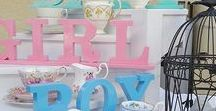 Baby Showers Vintage style / Vintage afternoon teas for baby showers baby boy girl in pastel shades. Check out my site for your baby shower needs for a high tea. highteahire.co.nz