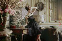 Dior par Yves Saint Laurent 5 ( H.C printemps /été 1960).