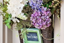 Front Door Decor & Wreaths / by Cathy Jean