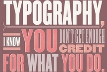 Typography & Letterings