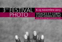 Affiches du Festival / le Festival Photo Saint-Germain-des-Prés propose  un parcours photographique original dans une quarantaine de lieux (galerie d'art contemporain, galerie de design, librairie spécialisée, galerie de photo, institutions, etc.) du 6ème arrondissement autour d'un thème fédérateur��