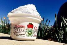 Greek Yogurt Love / 0% fat, all natural rBST free Greek Yogurt, made in Vermont!
