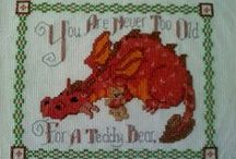Cross Stitch Dragons