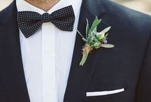 WEDDING // Menswear / Styling for the guys in your wedding.