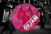 Oxjam Wolverhampton 2014 / Here's some designs we have worked on with Oxjam Wolverhampton. A one day musical takeover of the city taking place on October 18th