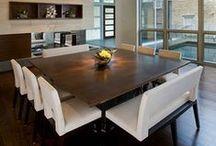 Salles à manger, réunions familiales... / by Linda Brault