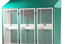 Athletic Lockers / Create a professional look for your athletic teams while providing maximum storage and the highest security of any open front locker. Our athletic lockers include a variety of features.   If you need to maximize your storage capabilities and minimize budgetary pressures, take a look at DeBourgh.