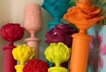 Neon Brights / How to decorate with the brightest colours.