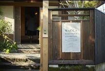 WACCA Exhibition / WASHI PAPER EXHIBITION in HAYAMA 和紙を知る、触れる、感じる 会期/2015年11月21日(土)〜25日(水) 会場/Nowhere but Hayama