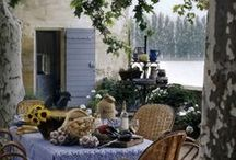 French Country / Country French inspiration - homes, decor and gardens.